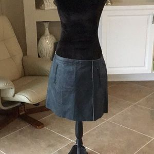 VINCE leather skirt, size 10, NWT